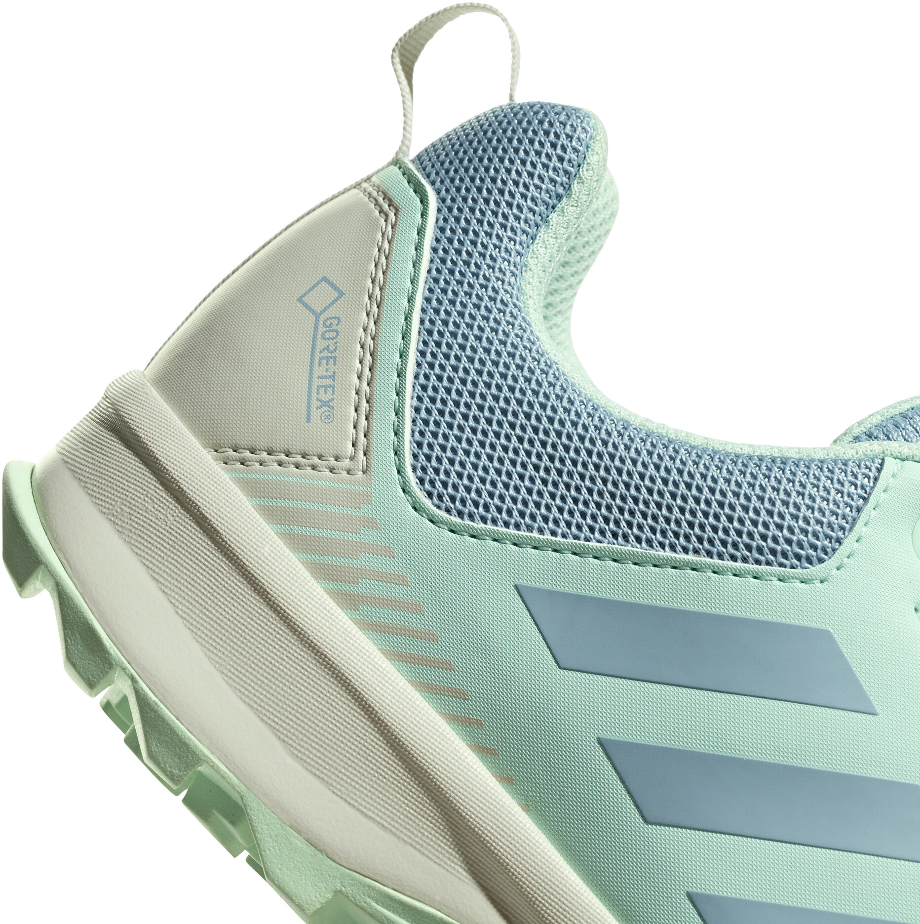 newest reliable quality authorized site adidas TERREX TraceRocker GTX Trail-Running Shoes Damen ash grey/ash  grey/clear mint